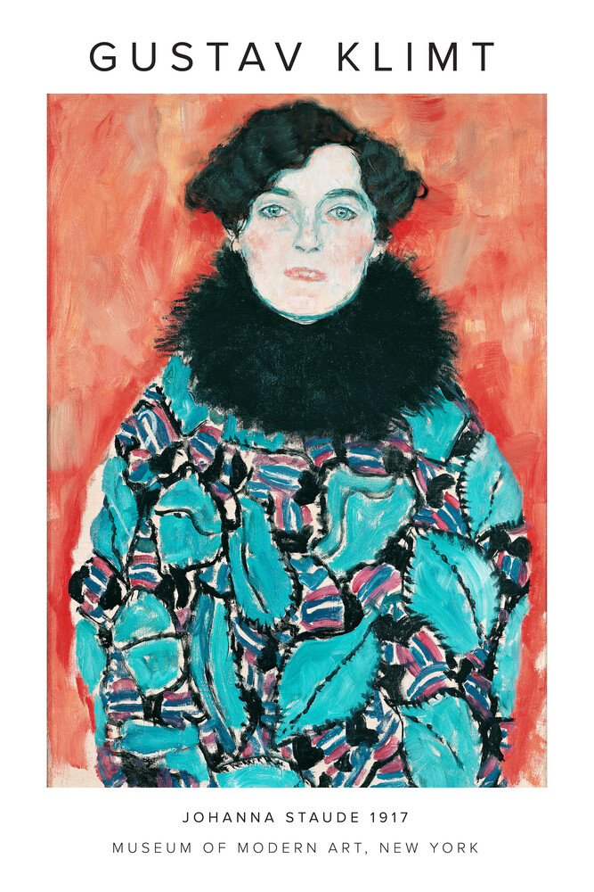 Gustav Klimt - Johanne Staude 1917 - Fineart photography by Art Classics