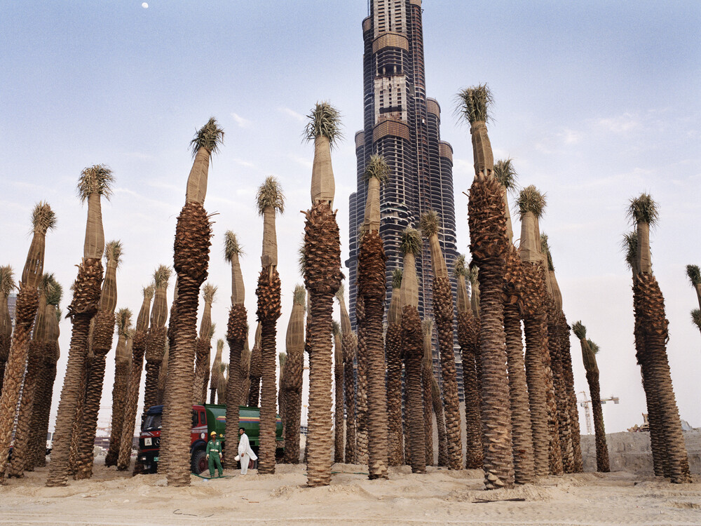 burj khalifa - fotokunst von Florian Büttner