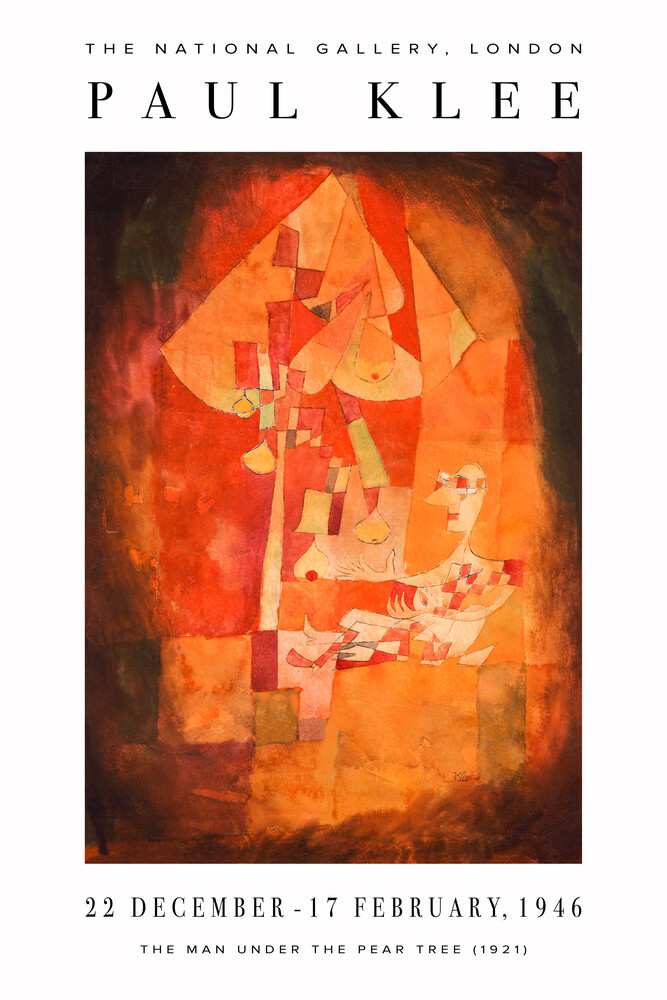 Exhibtion Print by Paul Klee - Fineart photography by Art Classics