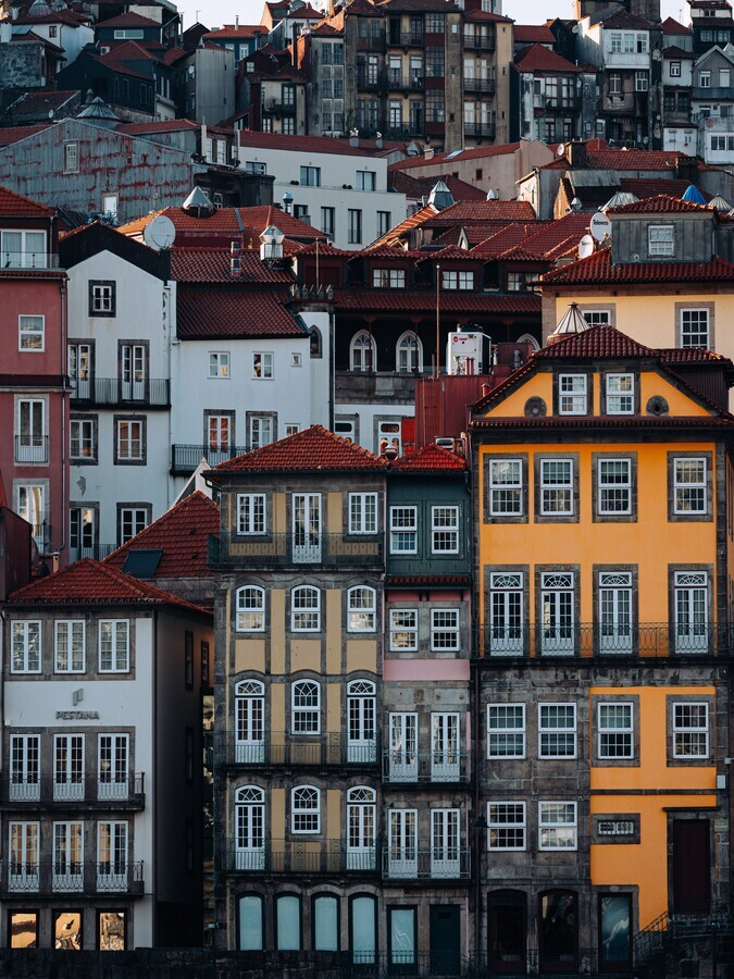 Exploring Porto, searching for windows - Fineart photography by André Alexander
