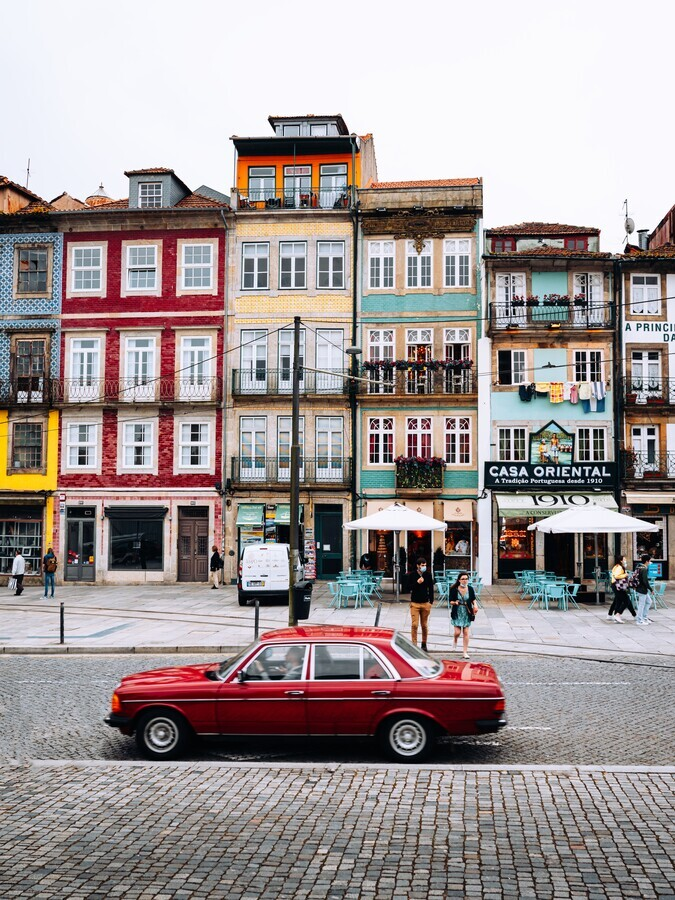 The oldtown of Porto - Fineart photography by André Alexander