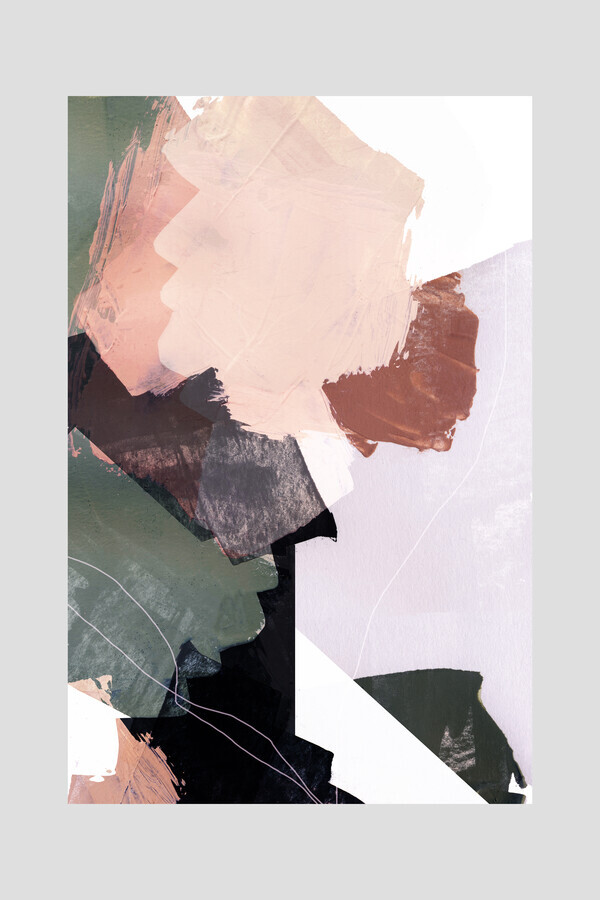 Abstract Brush Strokes 27 - Fineart photography by Mareike Böhmer