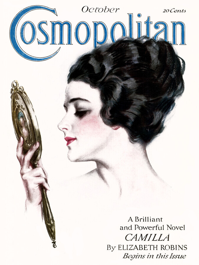 Cosmopolitan Cover Oktober 1917 - Fineart photography by Vintage Collection