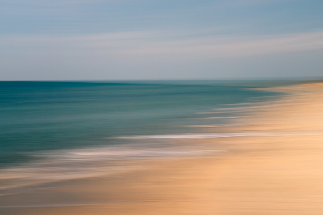 stretch of coast - Fineart photography by Holger Nimtz