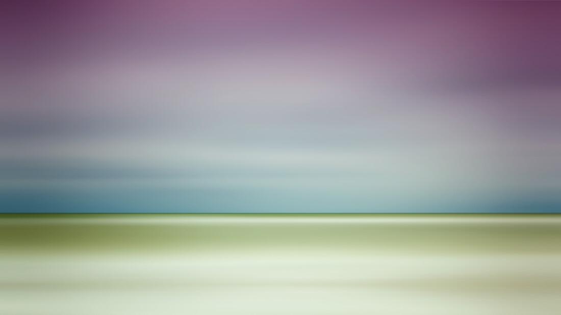 infinity sea - fotokunst von Holger Nimtz