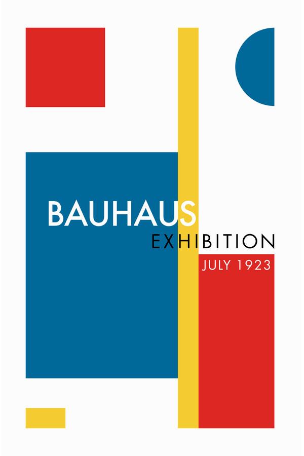 Bauhaus Exhibition (1923) - fotokunst von Bauhaus Collection