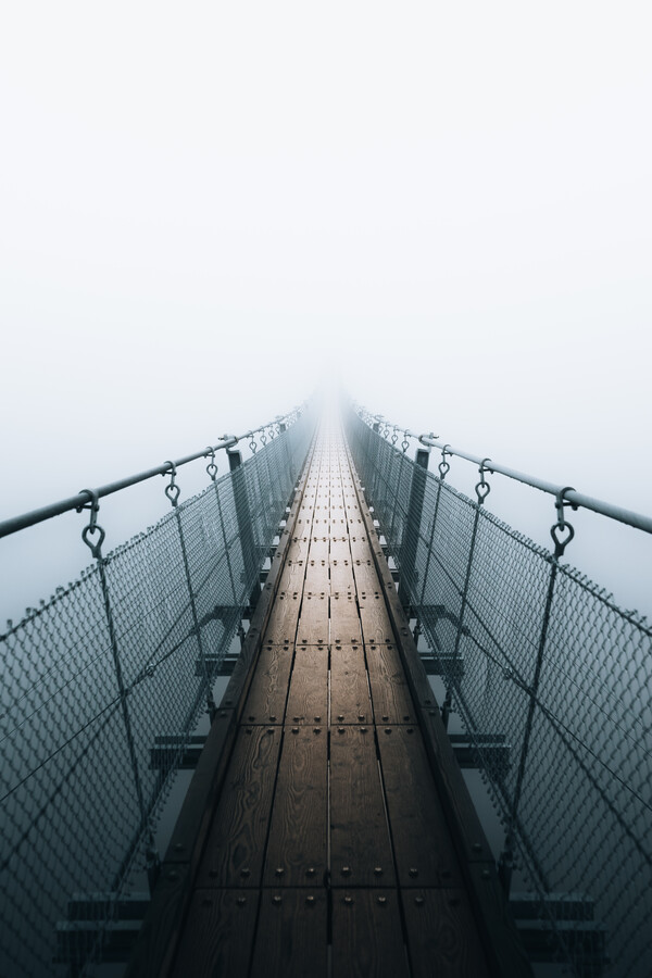 Covered by fog - Fineart photography by Sergej Antoni