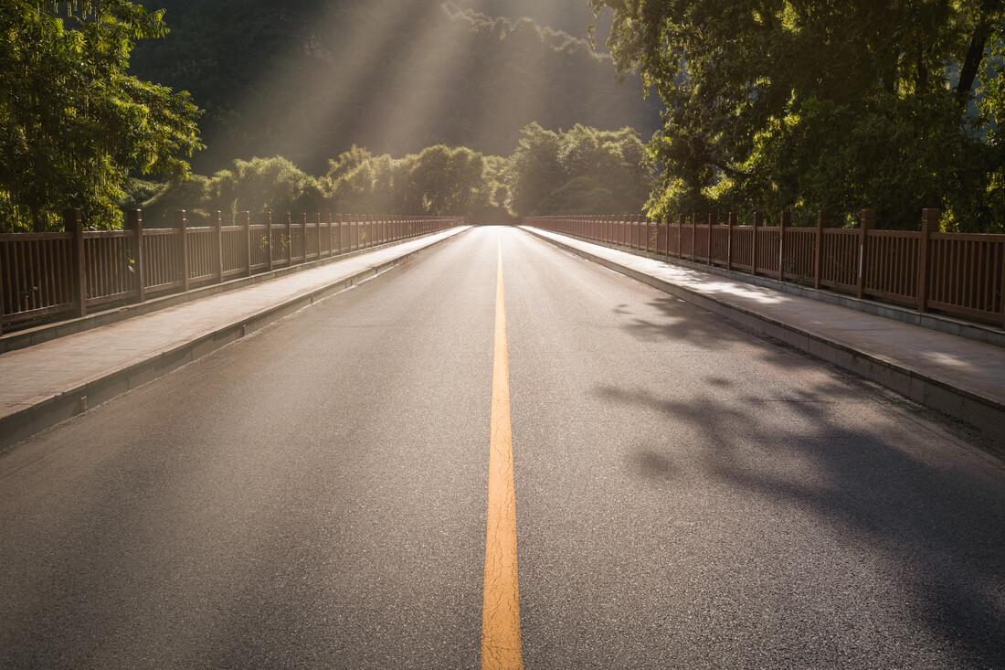 Crossings - fotokunst von AJ Schokora