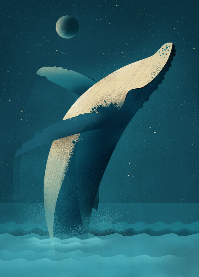 Humpback Whale - Fineart photography by Dieter Braun