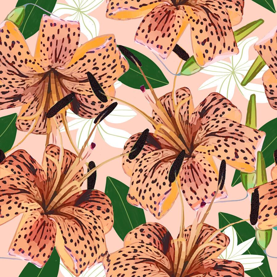 Tiger Lillies - Fineart photography by Uma Gokhale