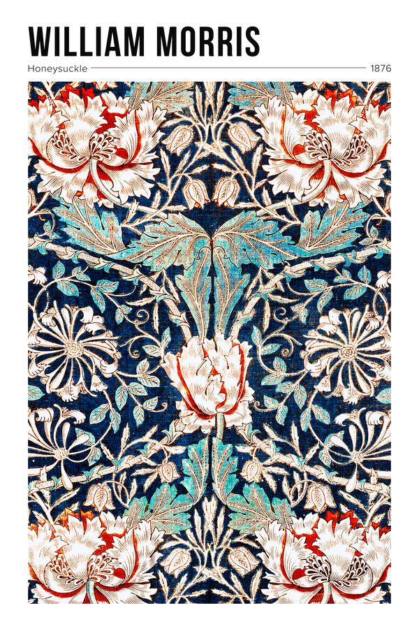 William Morris: Geißblatt - Ausstellungsposter - fotokunst von Art Classics