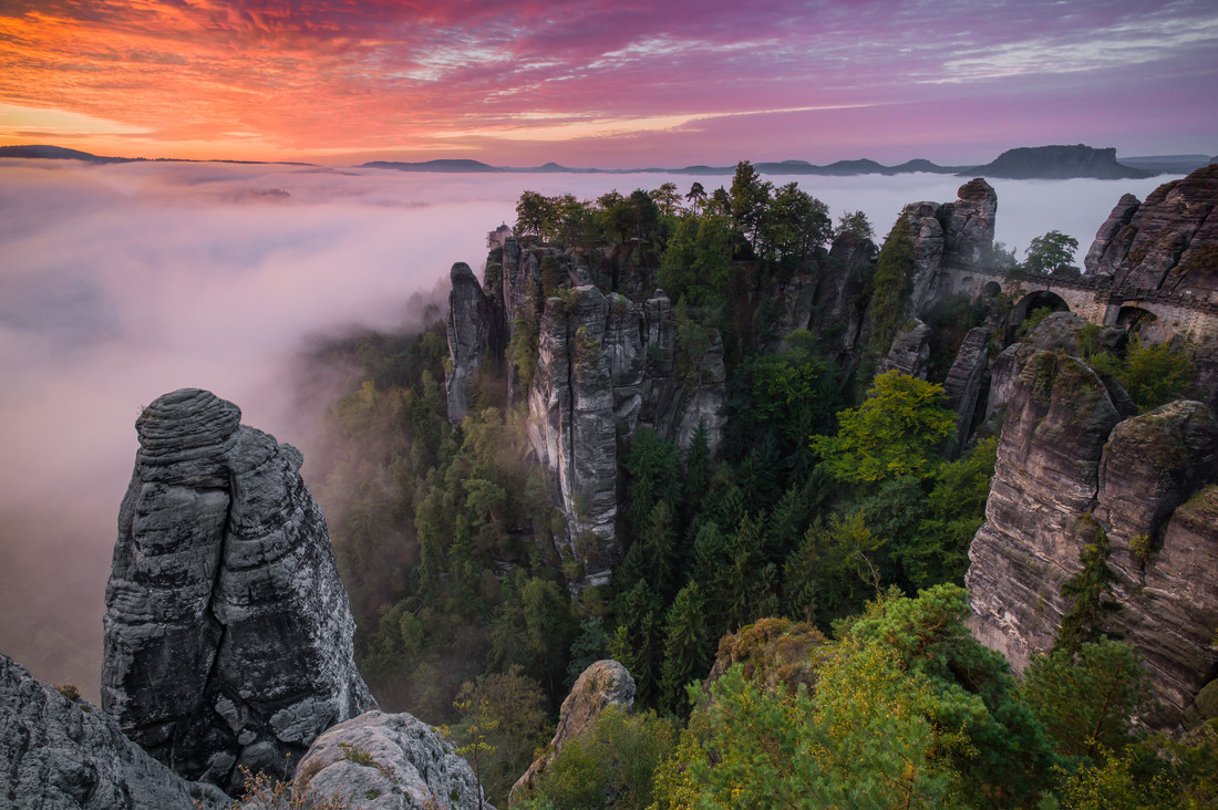 Bastei - Fineart photography by Boris Buschardt