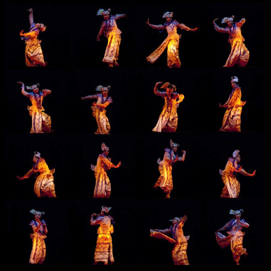 Burmese Dancer - fotokunst von Manfred Koppensteiner