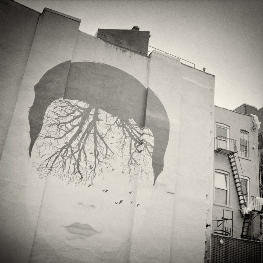New York City - Street Art - fotokunst von Alexander Voss