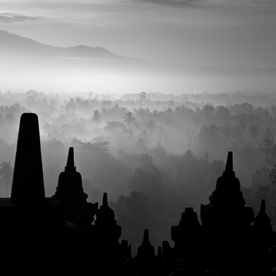 Borobudur Temple XL - Fineart photography by Hengki Koentjoro