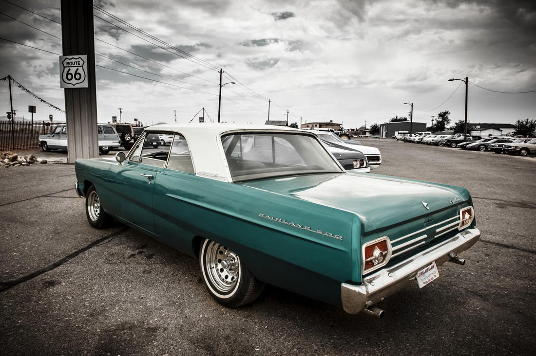 1965 Ford Fairlane 500 - Fineart photography by Michael Stein