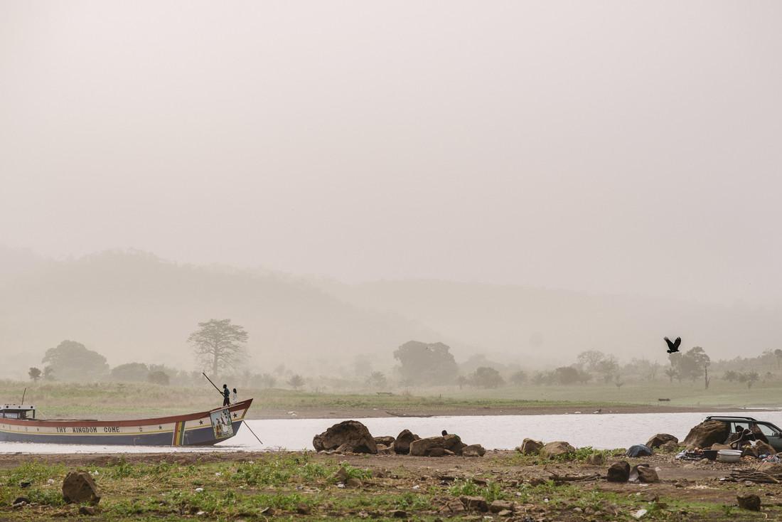 Volta Lake - fotokunst von Steffen Böttcher