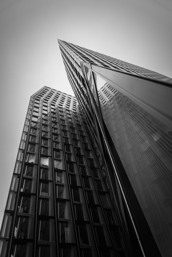 Dancing Towers - Fineart photography by Michael Schiller