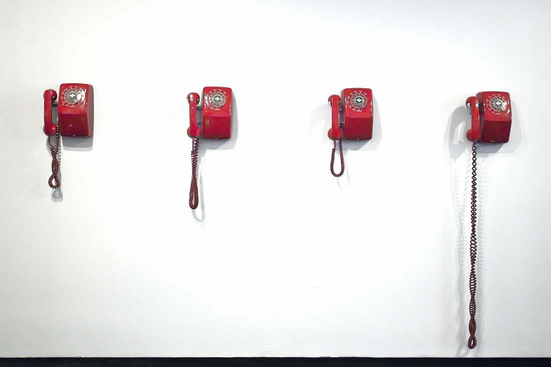 Telephones (in a hotel lobby) - Fineart photography by Jeff Seltzer