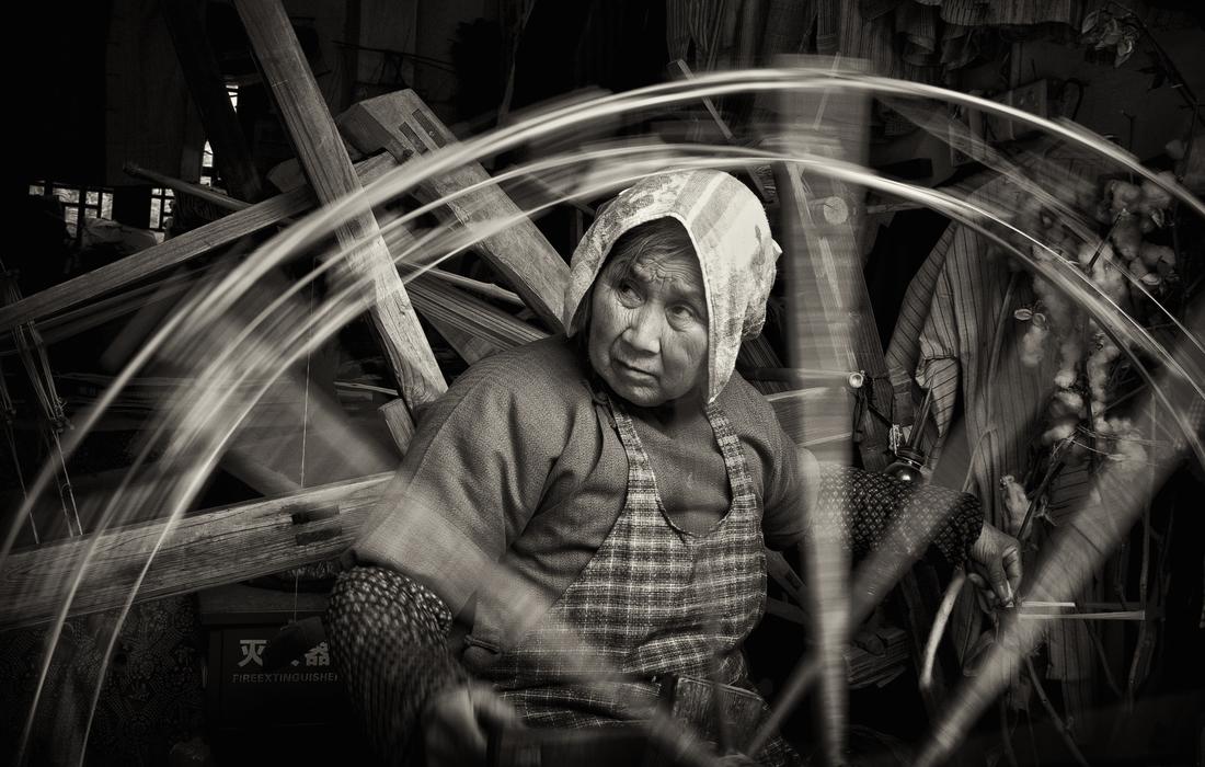 Spinning - fotokunst von Rob Smith