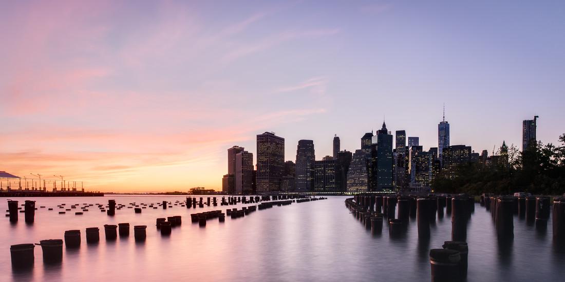 Skyline von New York City - fotokunst von Sebastian S