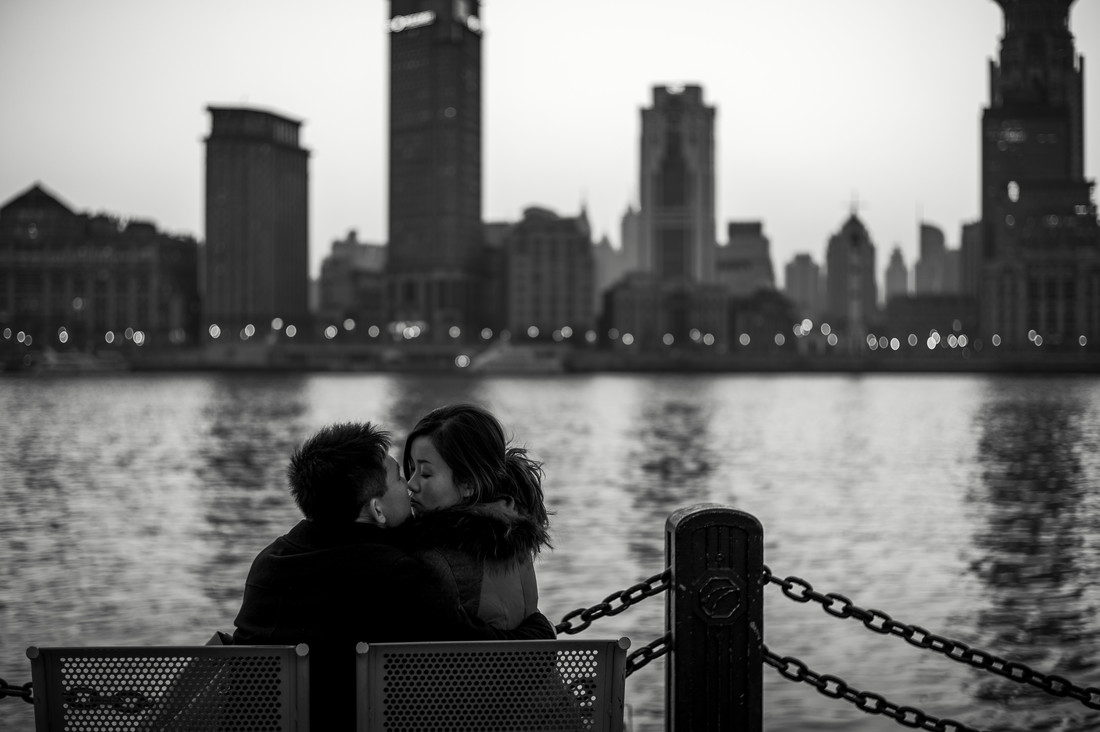 Urban Love - fotokunst von Rob Smith