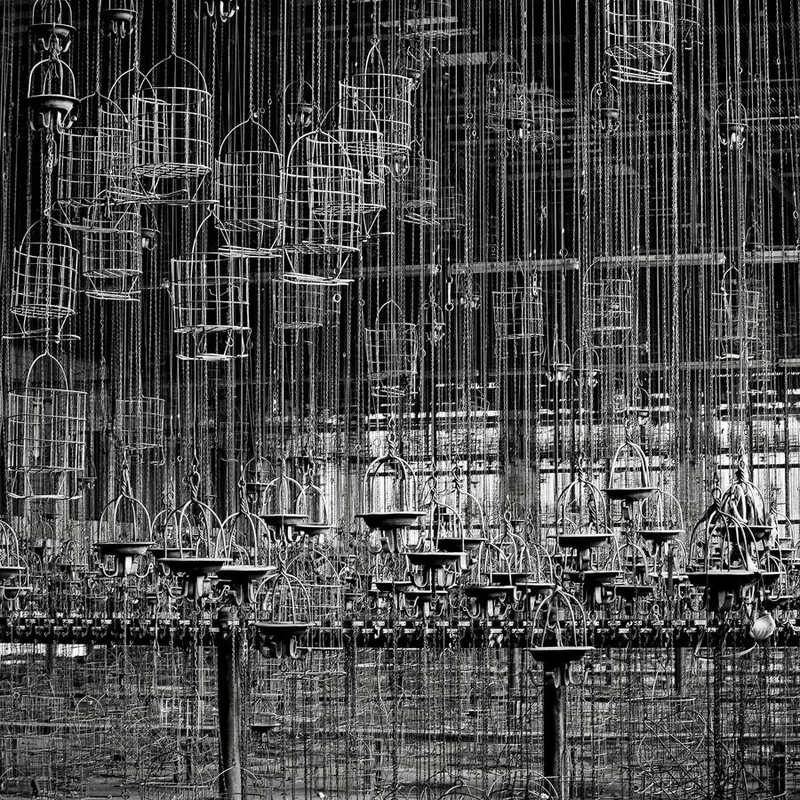 Waschkaue #19 - fotokunst von J. Daniel Hunger