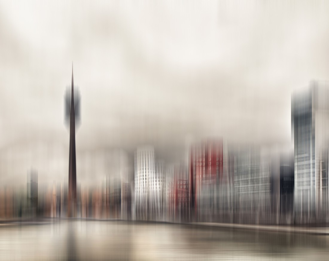 City in Motion - fotokunst von Klaus-peter Kubik