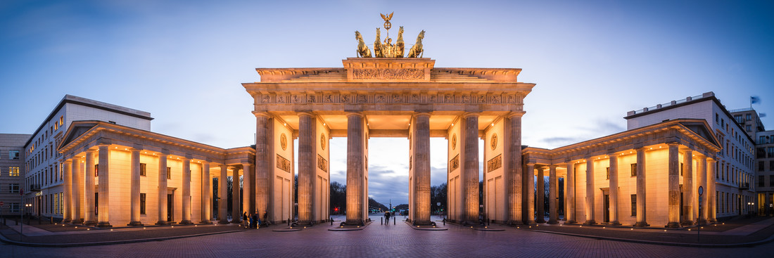 Berlin - Brandenburger Gate Panorama - Fineart photography by Jean Claude Castor