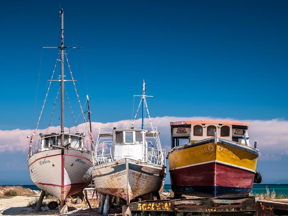 Three Ships - fotokunst von Lucas Doedens