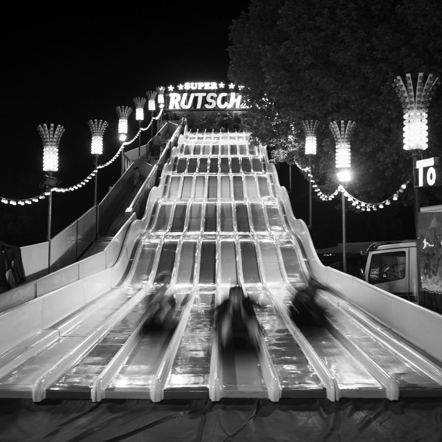 Stuttgart Spring Festival Slide - fotokunst von Ralf Martini