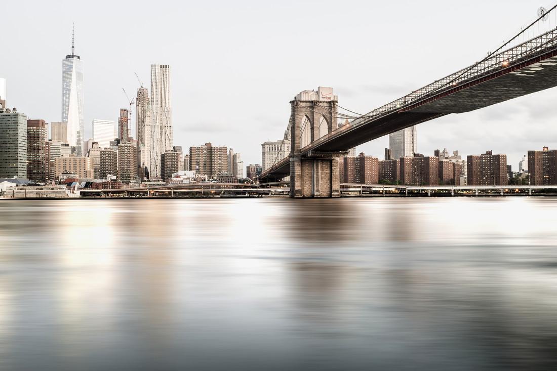 New York 8:30 am - Fineart photography by Roman Becker