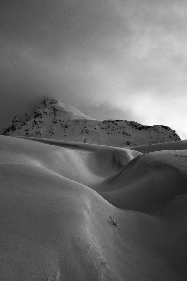 the mountain - fotokunst von Simon Bode