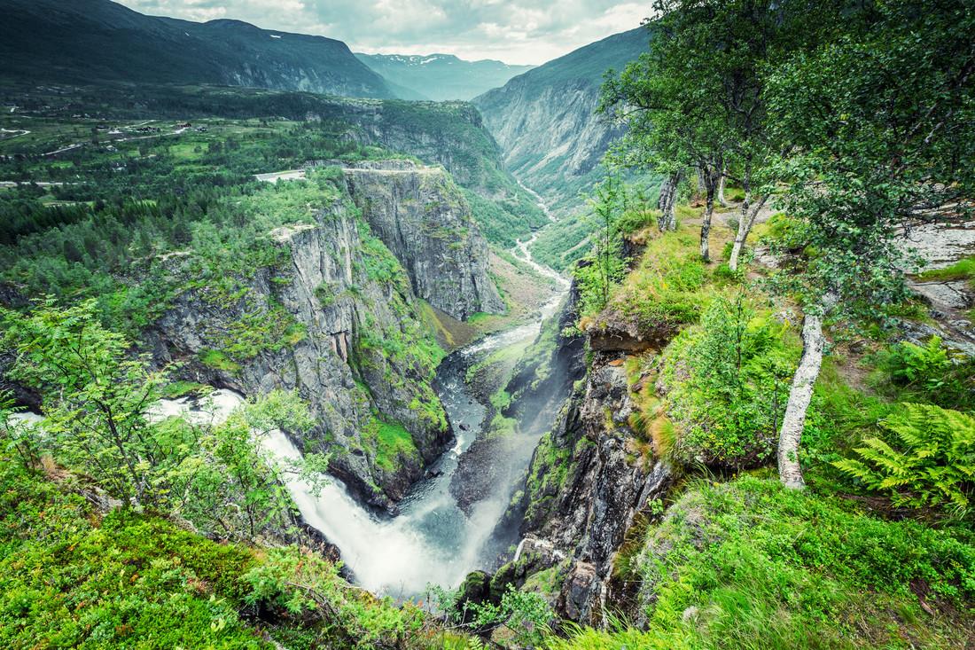 [:] Vøringsfossen [:] - fotokunst von Franz Sussbauer