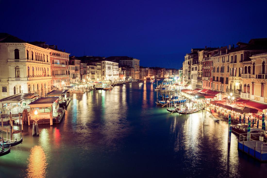 Venedig Canal Grande - fotokunst von David Engel