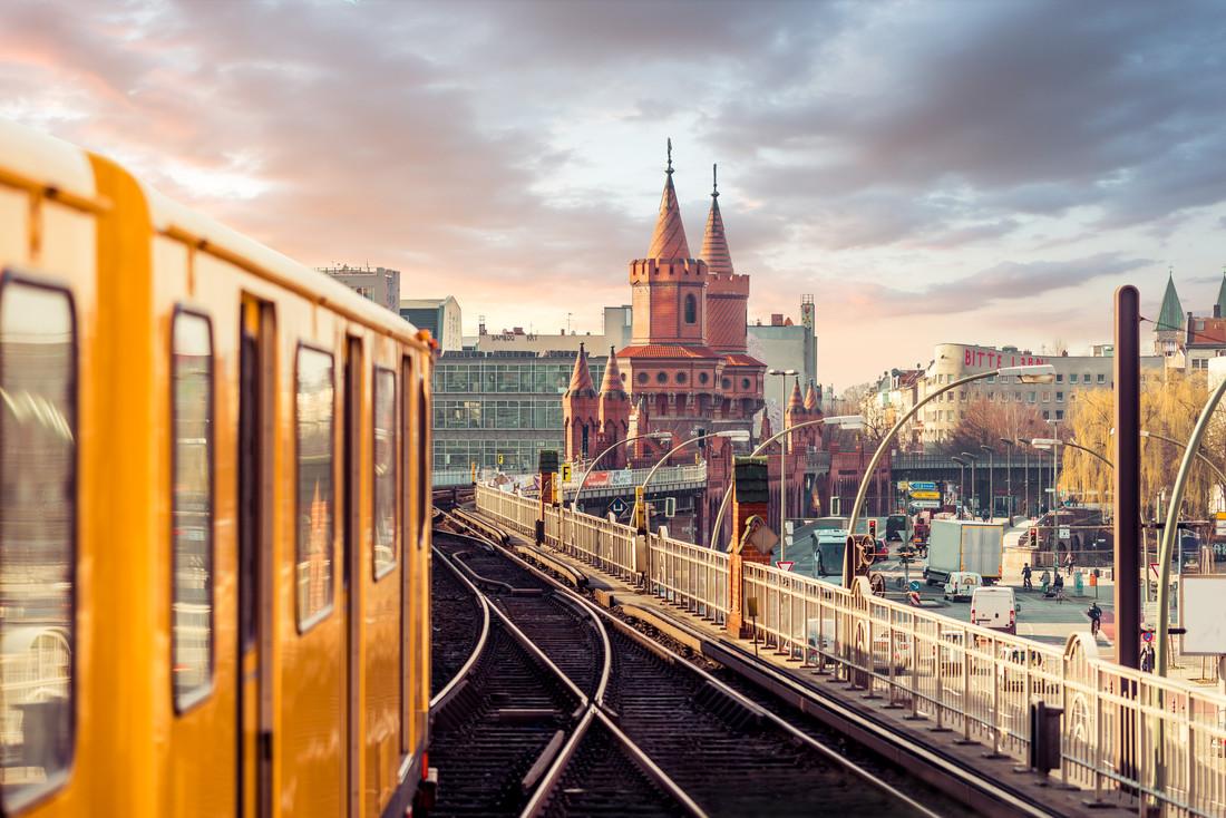 Berlin Oberbaumbrücke - fotokunst von David Engel