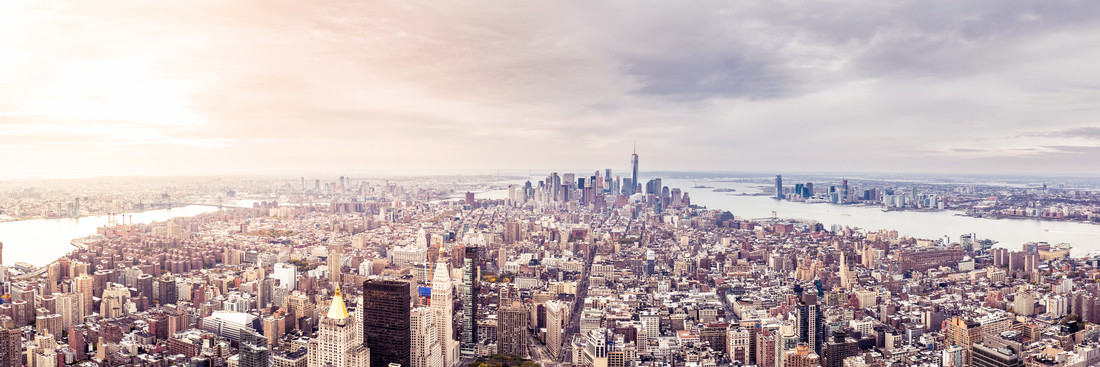 new york Aerial - Fineart photography by Roman Becker