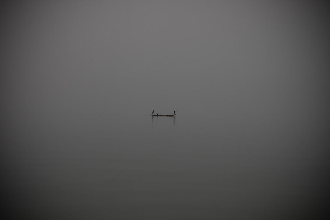 At Sea - fotokunst von Tom Sabbadini