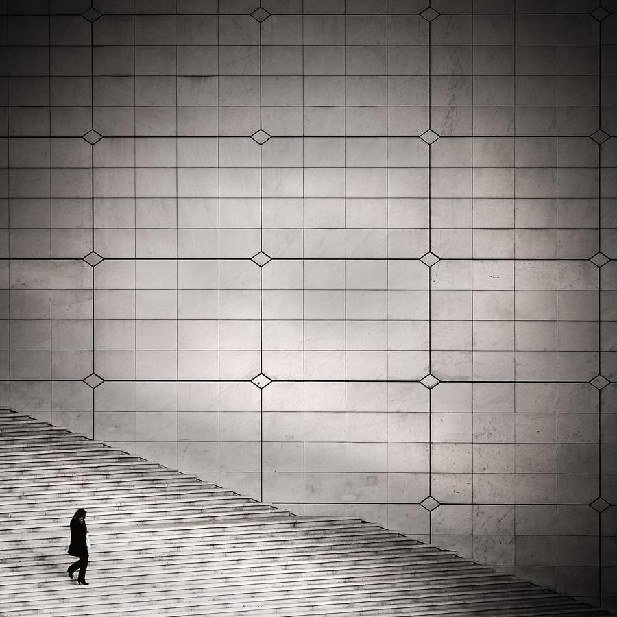 Paris 2012, La Grande Arche - Fineart photography by Patrick Opierzynski