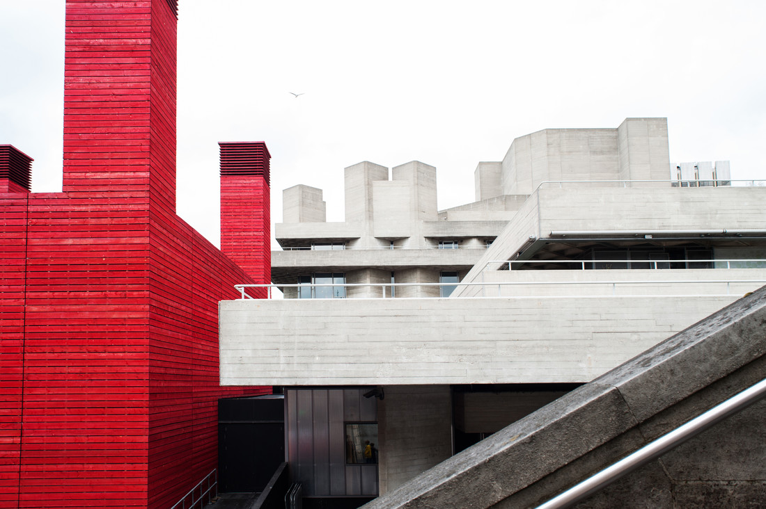 Royal National Theatre - Fineart photography by Laura Droße