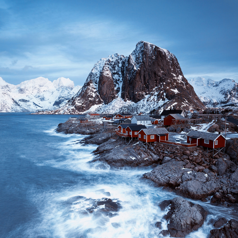 Hamnøy - Lofoten islands - fotokunst von Eva Stadler