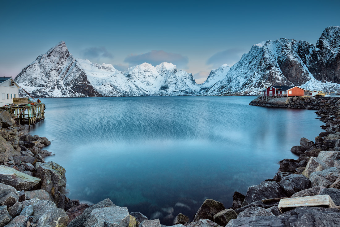 Lofoten mountains, Norway - fotokunst von Eva Stadler