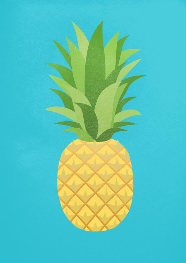 Ananas - Fineart photography by Angela Capillo