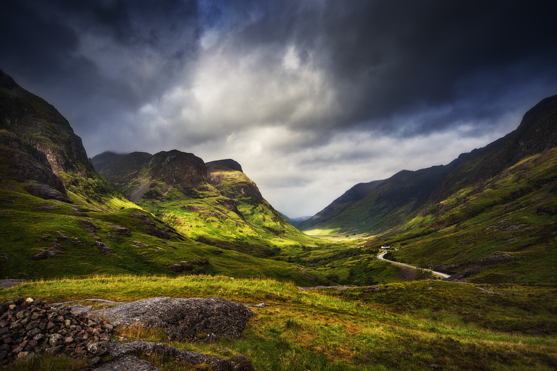 Highland Fairy Tale V - Fineart photography by Philip Gunkel