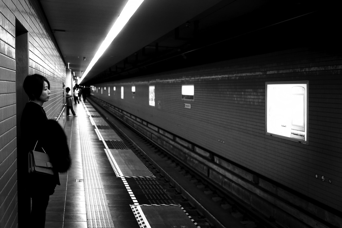 Commuter Thoughts - Fineart photography by Rob Smith
