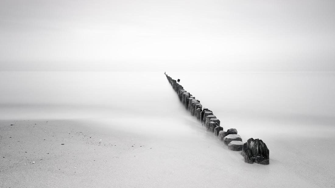 beach light - fotokunst von Holger Nimtz