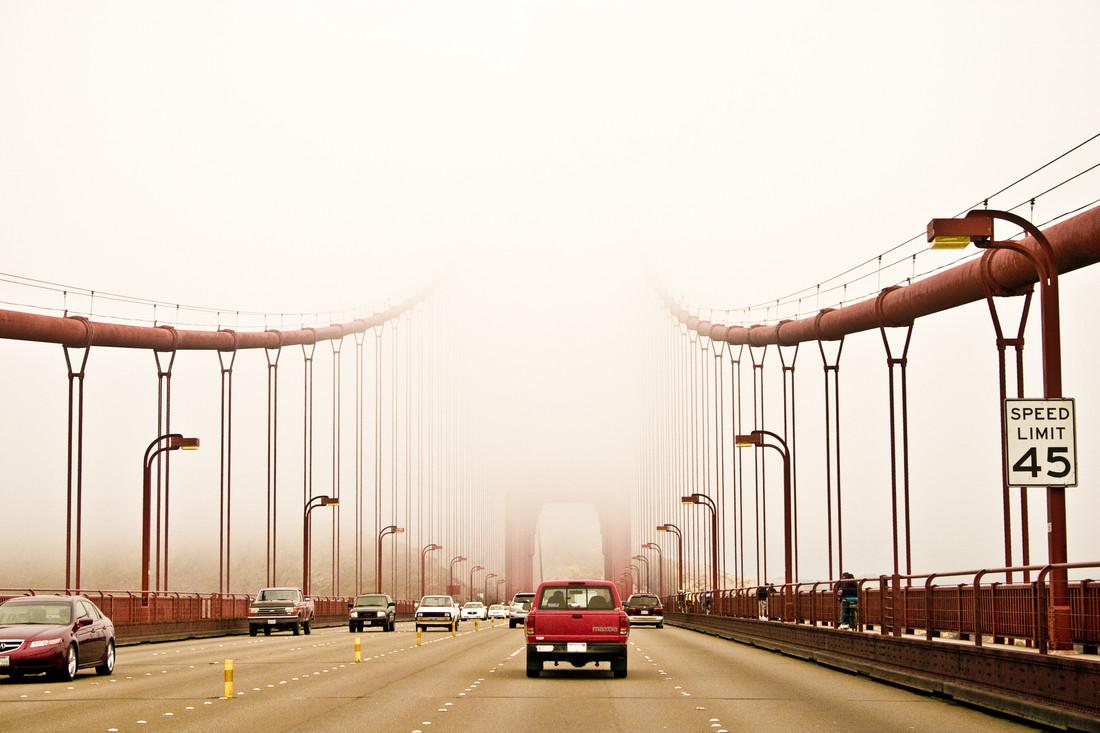 Golden Gate Bridge - fotokunst von Un-typisch Verena Selbach