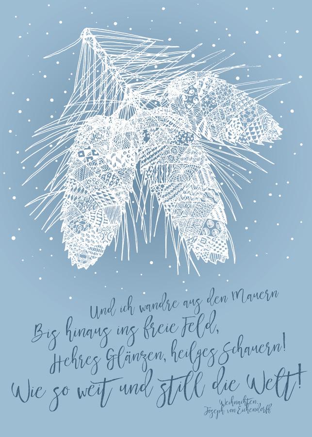 Weihnachten #2 - fotokunst von Un-typisch Verena Selbach