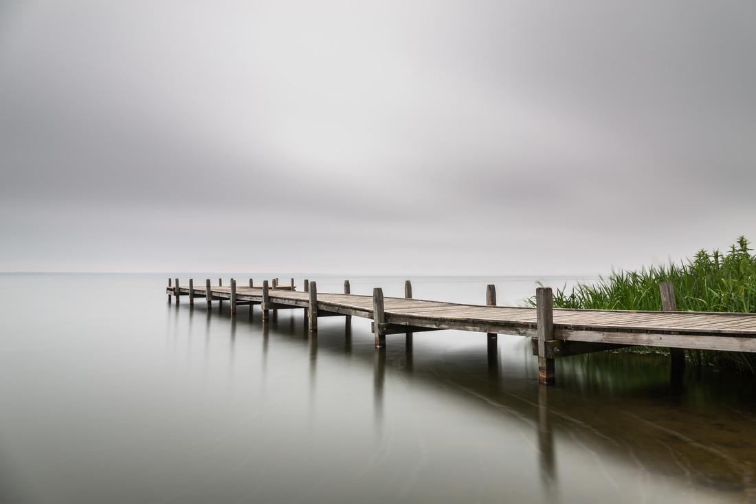 Hagenburg Pier - fotokunst von Michel Sievers