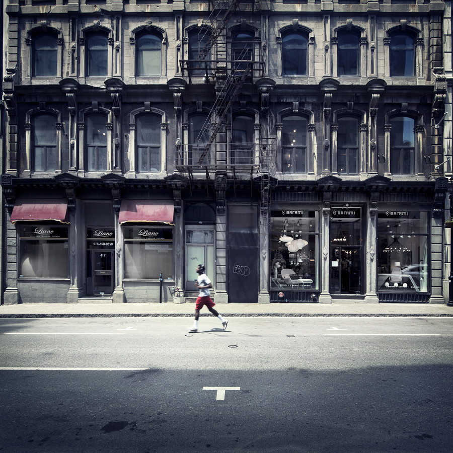 Runner - Montreal - Fineart photography by Ronny Ritschel